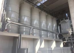 0_Ricevimento, estrazione, trasporto e dosaggio materie prime per la produzione di blocchi di marmo resinato